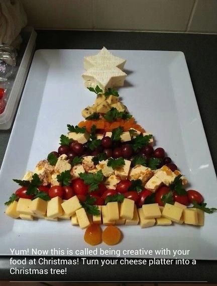 Christmas Cheese Platter.Fitzness Com