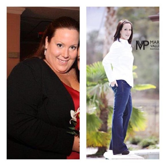 Tracy Ryan lost 200 pounds!  Incredible before and after photo. Fitzness.com
