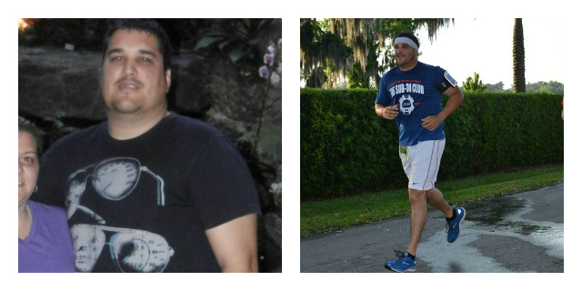 will baez before after picture weight loss