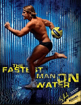 tony azevedo team usa water polo olympics sexy run speedo
