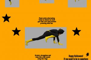 Batgirl Workout! Train Year-Round to Look and Perform Like a Superhero - A FUN Infographic