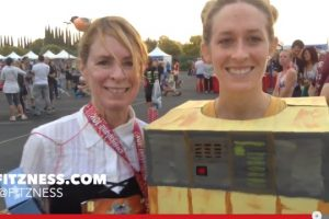 Hilarious Runner Interviews at the Disneyland 10K and a Great Giveaway