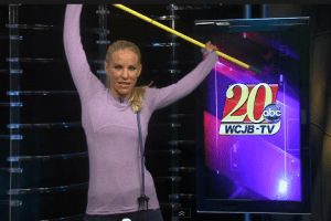Broomstick Stretches for Your Back and Neck