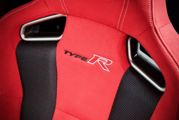 Civic Type R seat