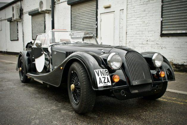 Morgan car 4/4 black