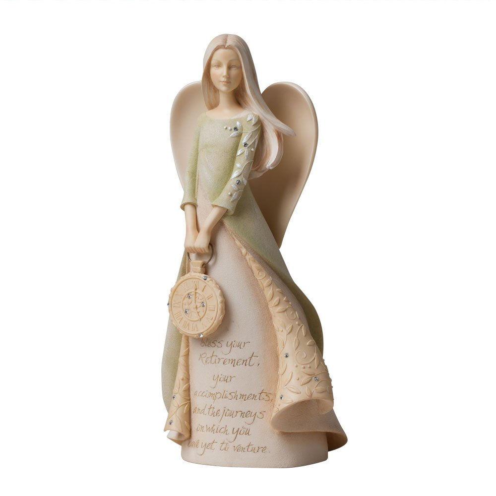 Foundations Retirement Angel Figurine Fitzulas Gift Shop