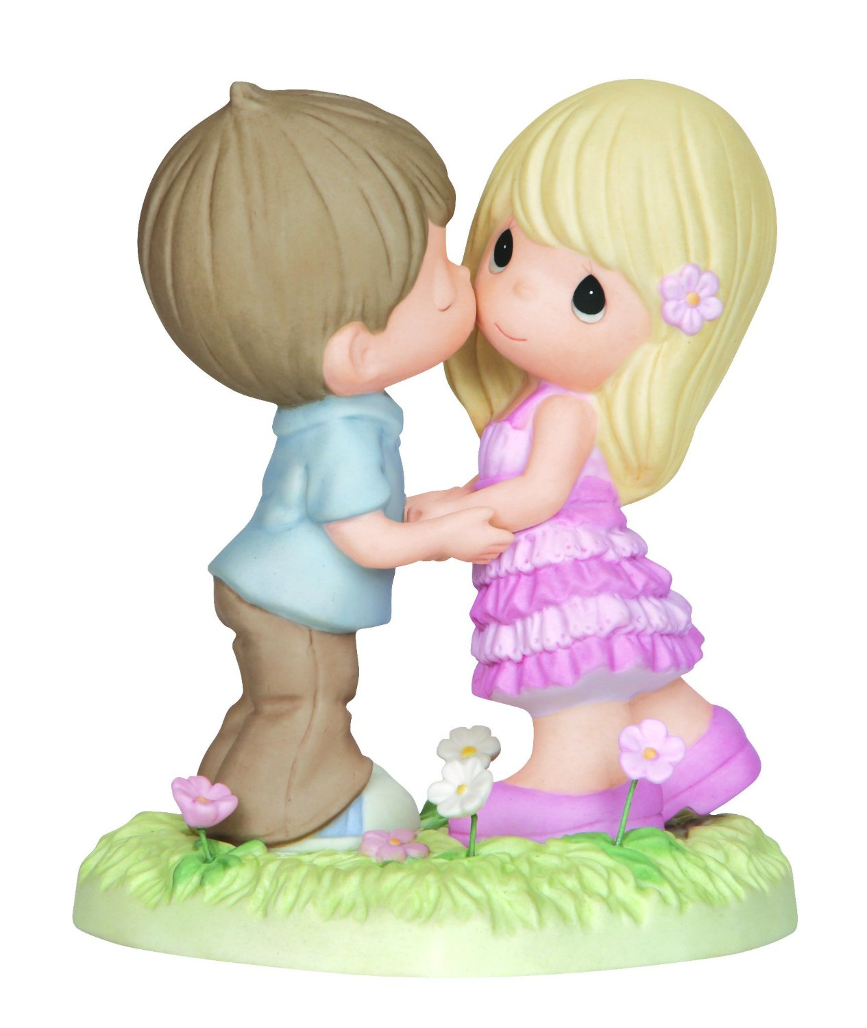 Precious Moments Always In My Heart  Boy And Girl On