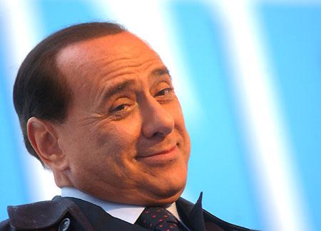 il premier Silvio Berlusconi
