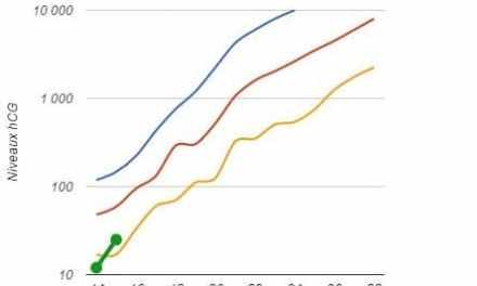 Calculette d'évolution du taux beta hCG