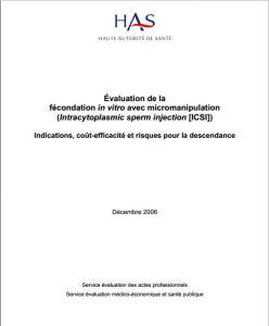 Rapport ICSI Haute Autorité de Santé