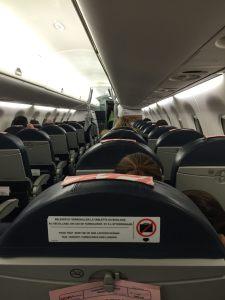 interieur avion hop