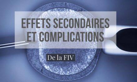 Effets secondaires et complications