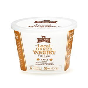 Local Mable Whole Milk Greek Yogurt
