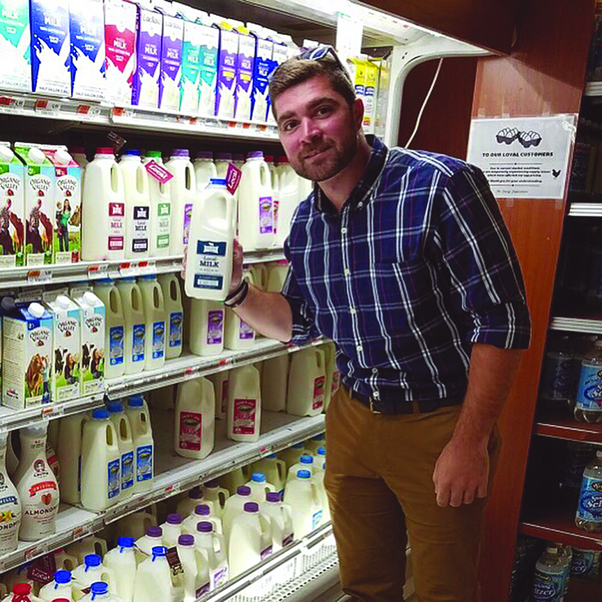 Buying local milk - Five Acre Farms