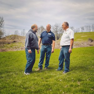 Sunrise Family Farms is a boon to the region's economy. Dave, Charlie and Sandy source their milk from 20 local dairy farms within a 30-mile radius and employ 50 people full time.