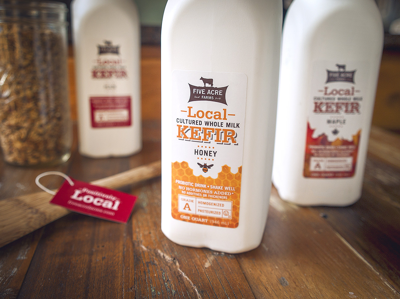 Local Kefir Five Acre Farms
