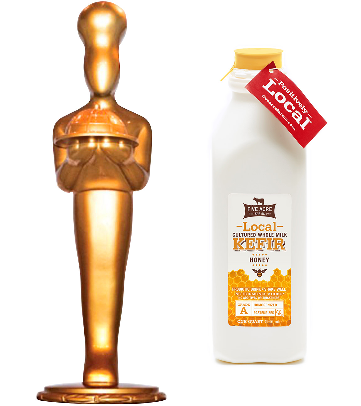 sofi-statue SWEEET... HONEY KEFIR WINS GOLD!