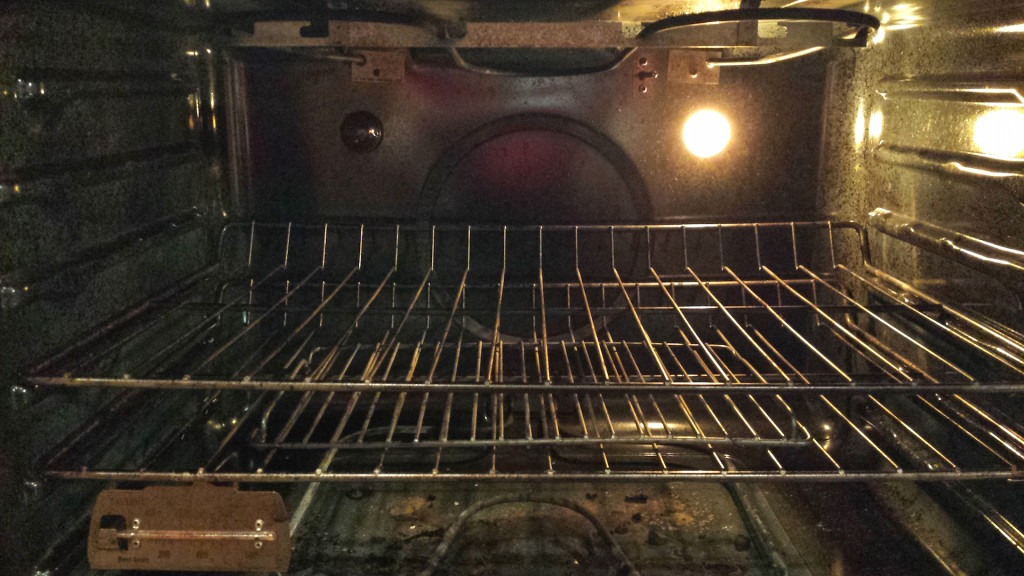 The middle of the oven typically has the most even heat.