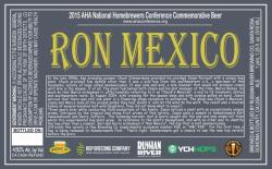 Ron Mexico label