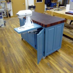 Portable Island Kitchen Instant Hot Water Systems Fivebraids Custom Woodworking - Furniture Gallery
