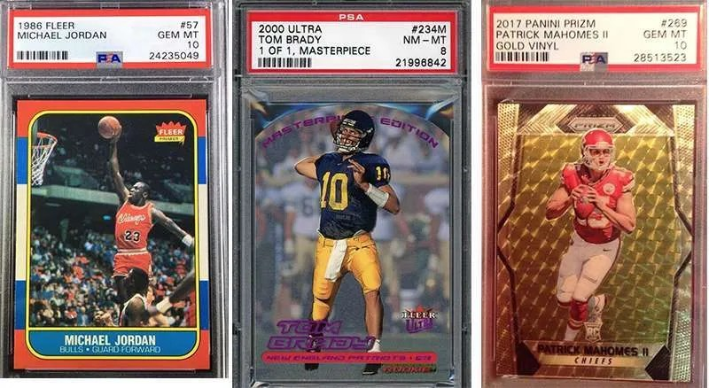 Most Watched Psa Graded Rookie Cards Listed On Ebay Fivecardguys