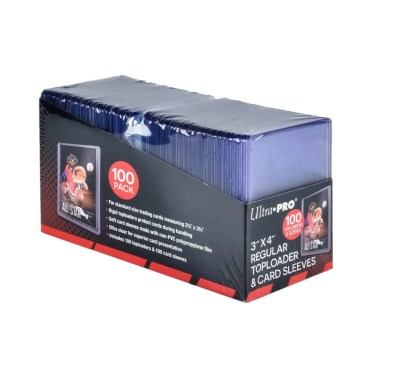 Ultra Pro Toploaders and Clear Sleeves for Collectible Trading Cards