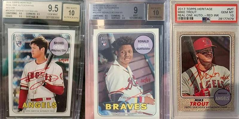 Topps Heritage baseball cards