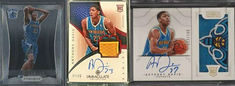 Anthony Davis rookie cards