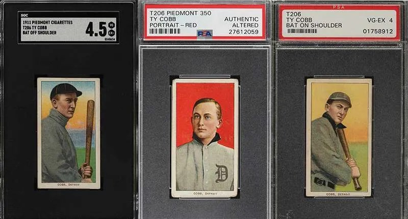 Ty Cobb Baseball Cards