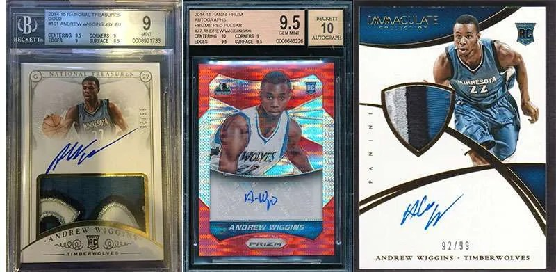 Andrew Wiggins Rookie Cards