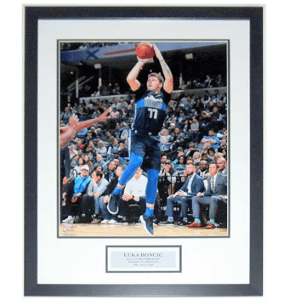 Luka Doncic Autograph Poster