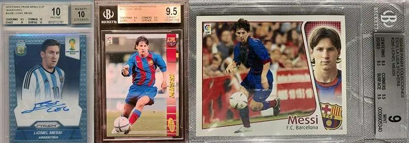 Lionel Messi Soccer Cards