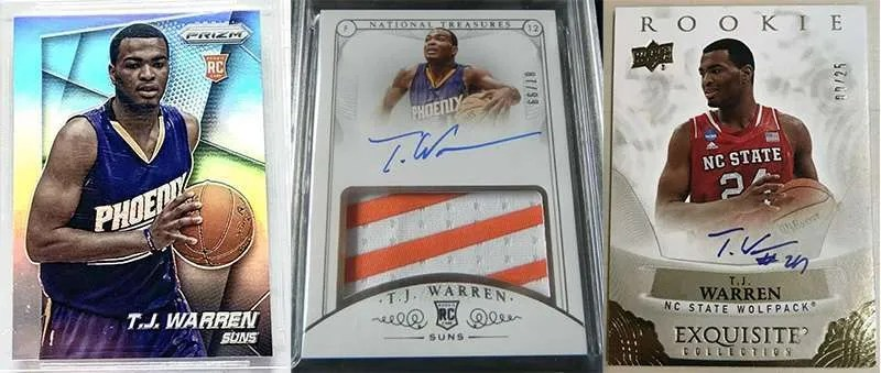 TJ Warren Rookie Cards