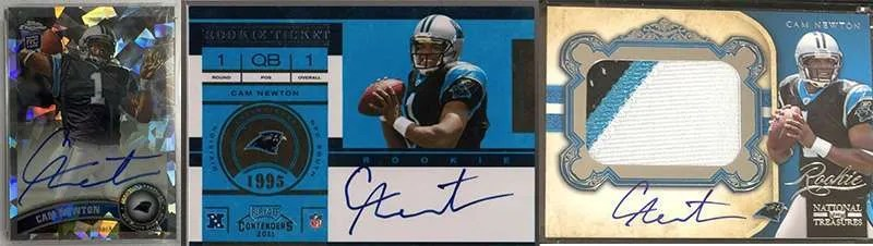 Cam Newton Rookie Cards
