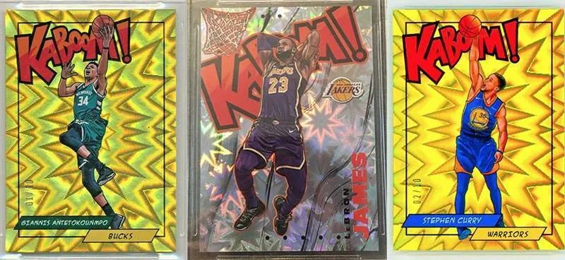 panini basketball kaboom hits