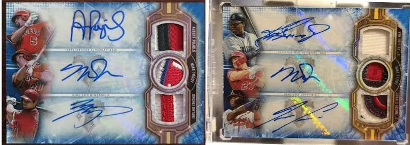 2020 Topps Triple Threads
