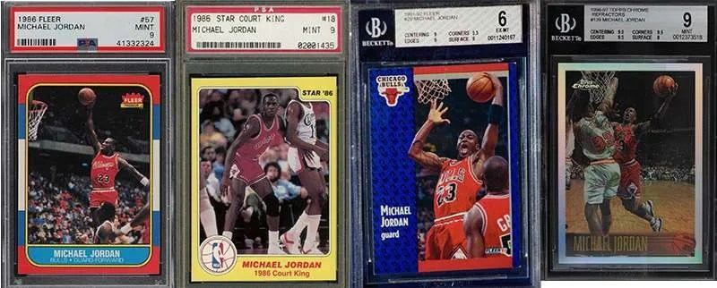 Michael Jordan Most Popular Hottest Basketball Cards