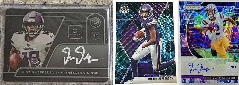 Justin Jefferson Rookie Cards