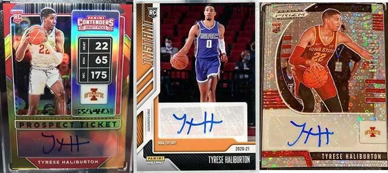 Tyrese Tyrese Haliburton rookie cardsHaliburton rookie cards
