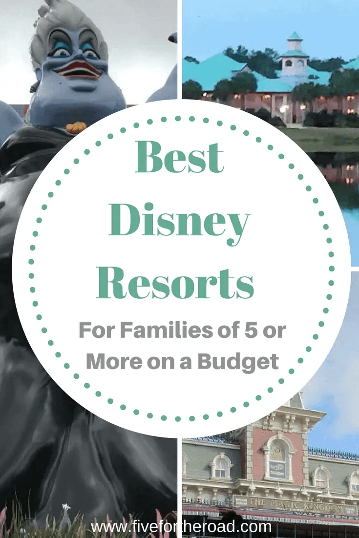 On Site Disney Resorts on a Budget