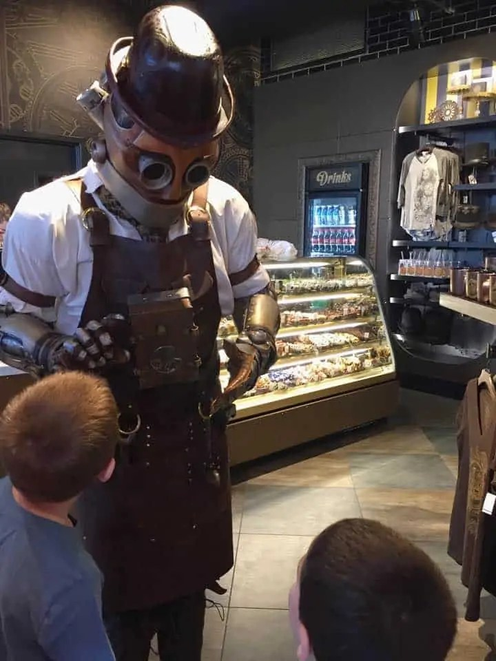 characters at the toothsome chocolate emporium