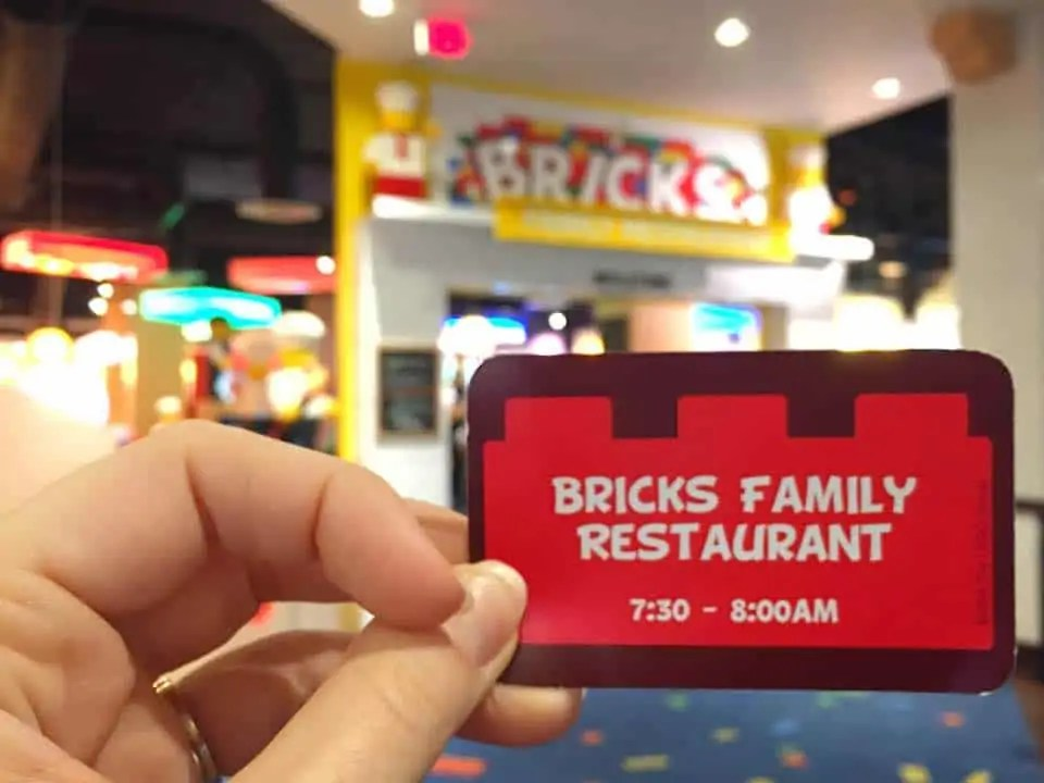 Bricks Buffet at Legoland Florida Hotel