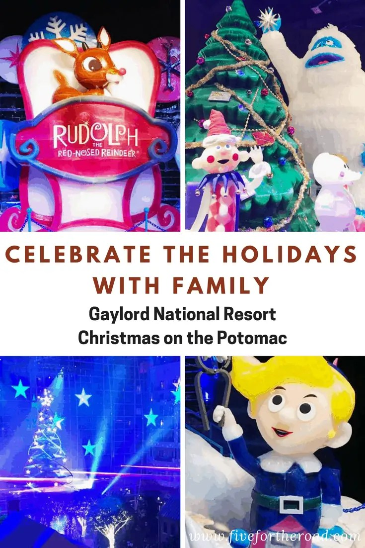 Celebrate the Holidays at Gaylord National Pin