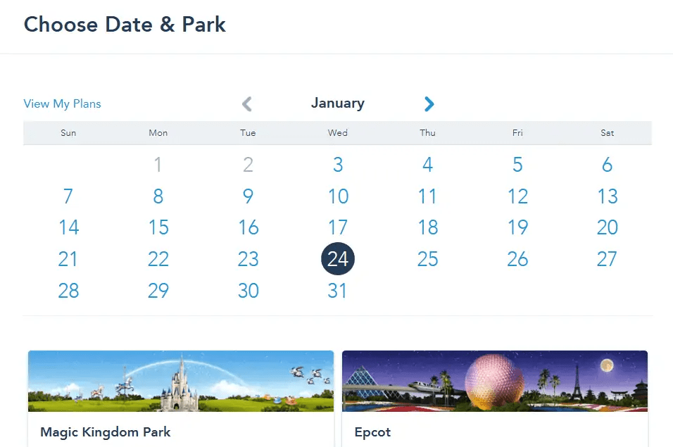 day and park fastpass