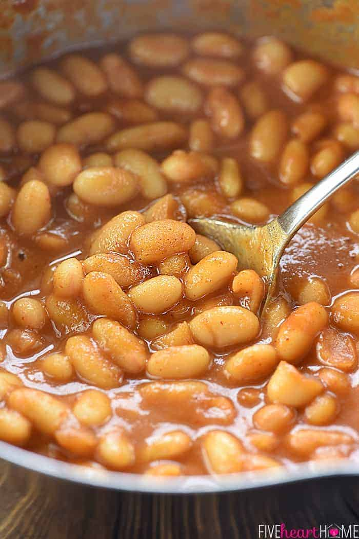 Stovetop Baked Beans Recipe  Dishmaps