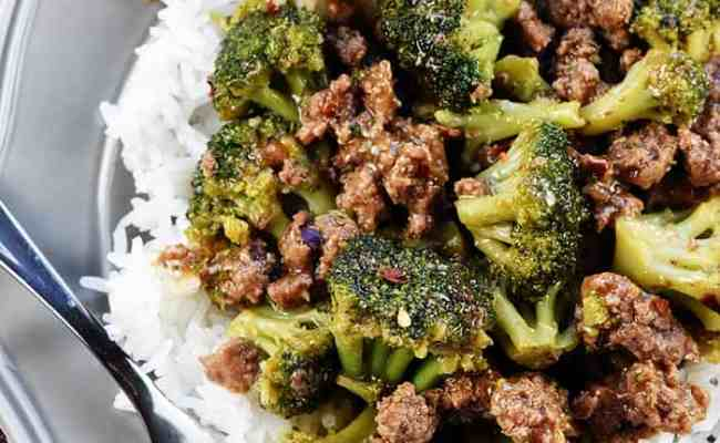 Ground Beef Broccoli Recipe