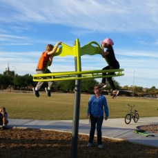 Fun at a park in Mesa