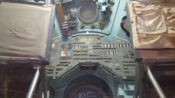 "This is the command module used in the movie ""Apollo 13"""