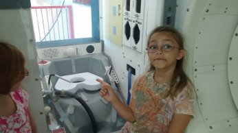 Space shuttle toilet