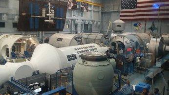 International Space Station mockup